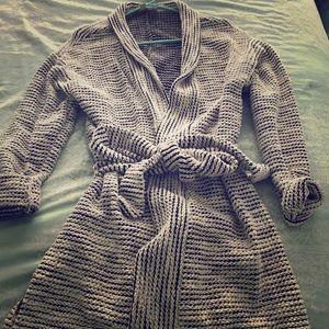 The Loft robe sweater